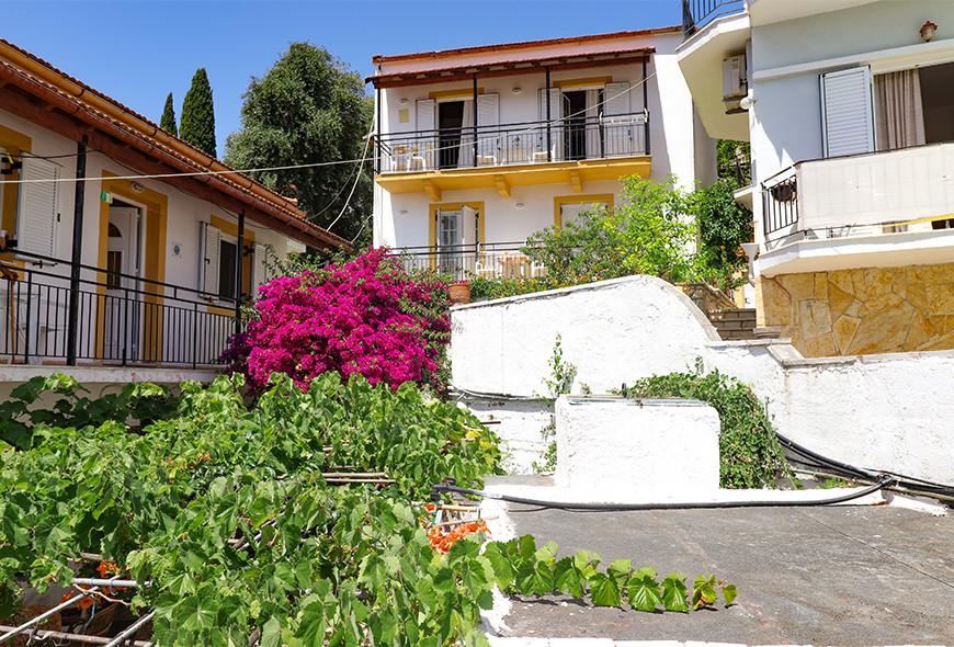 Antigoni Apartments Kassiopi Corfu Greece Front