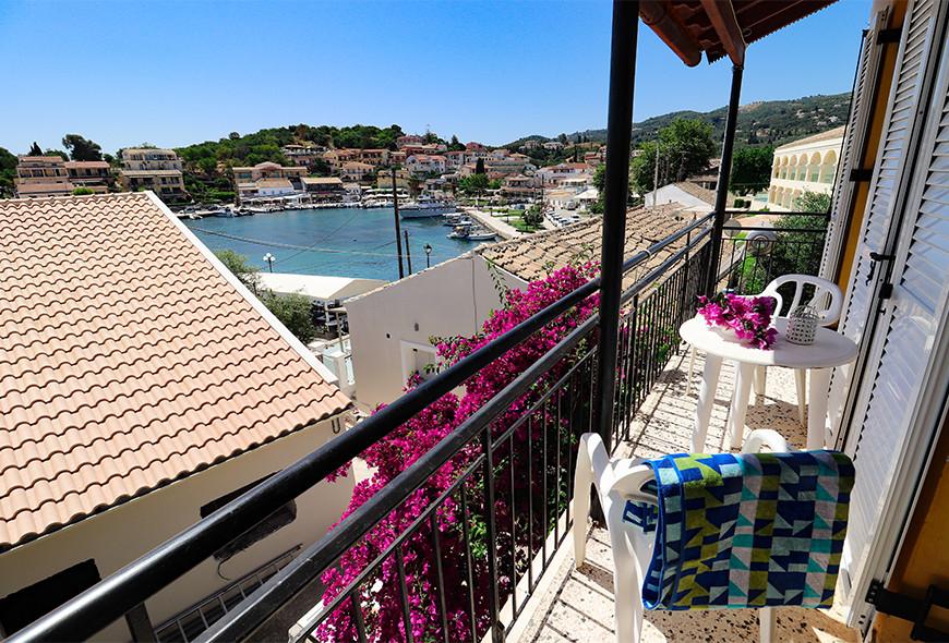 Antigoni Apartments Kassiopi Corfu Greece Harbour