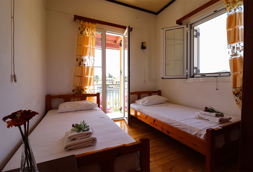 Antigoni Apartments Kassiopi Corfu Greece Bedroom