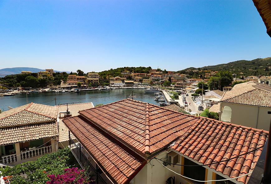Antigoni Apartments Kassiopi Corfu Greece View of Harbour