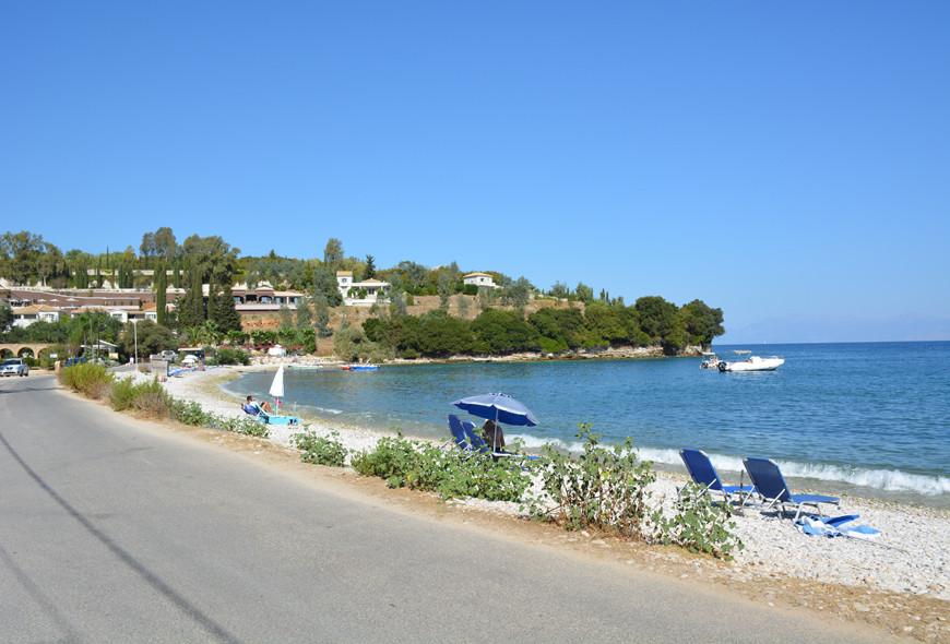 Avlaki Kassiopi Corfu Greece Views Sea