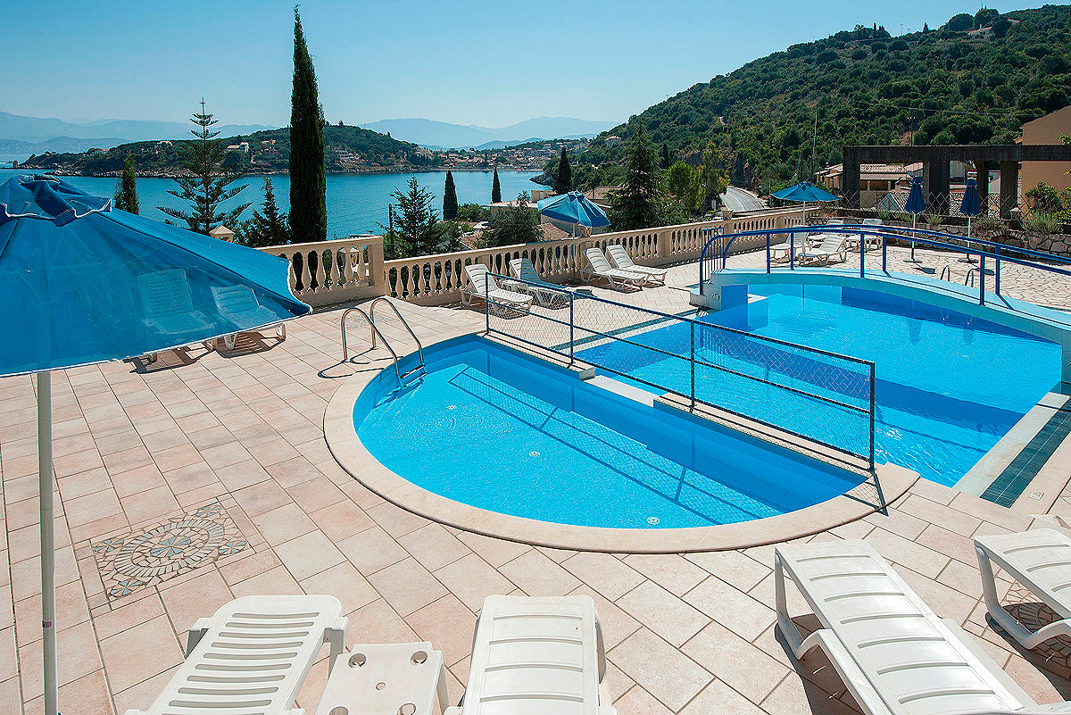 Dimitrios Apartments Pool Imerolia Kassiopi Corfu Greece