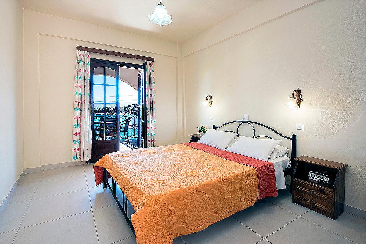 Dimitrios Apartments Bedroom Kassiopi Corfu Greece