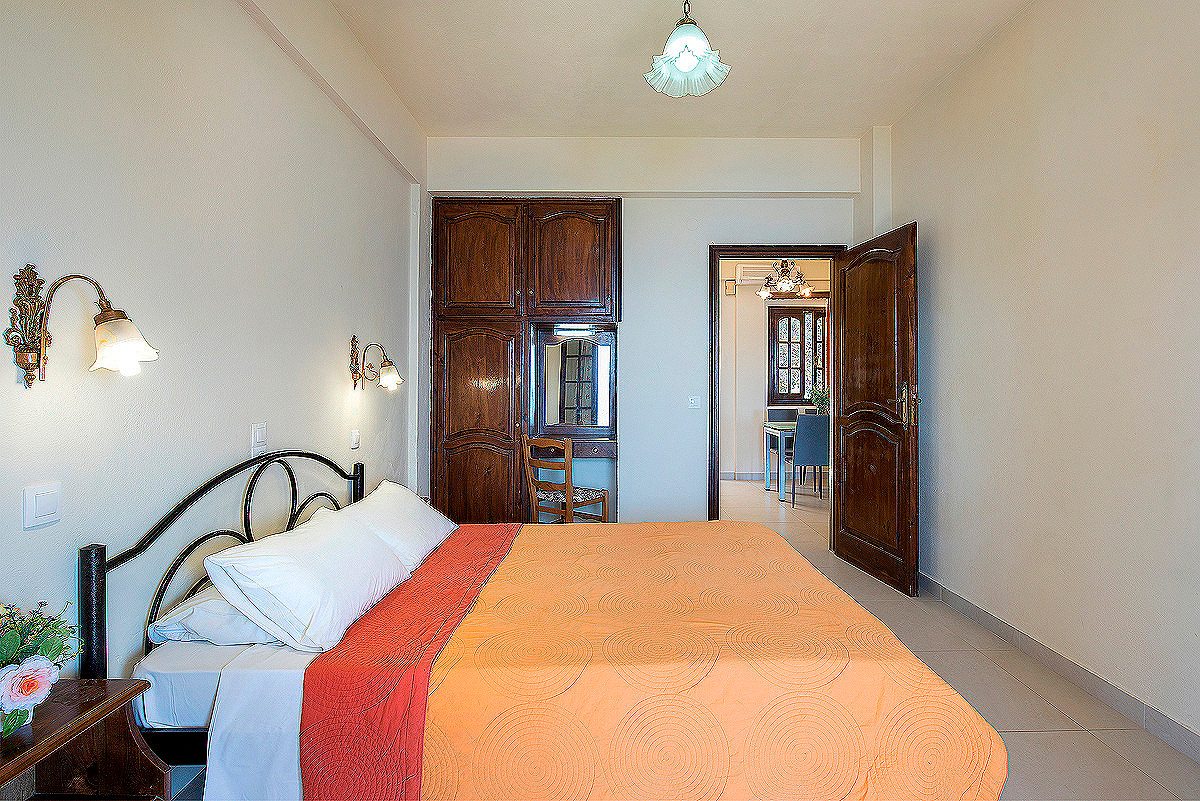 Dimitrios Apartments Bedroom Imerolia Corfu Greece