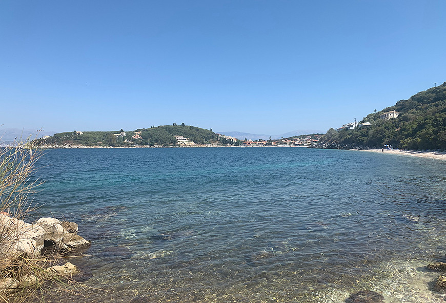 Imerolia Beach Kassiopi Corfu Greece