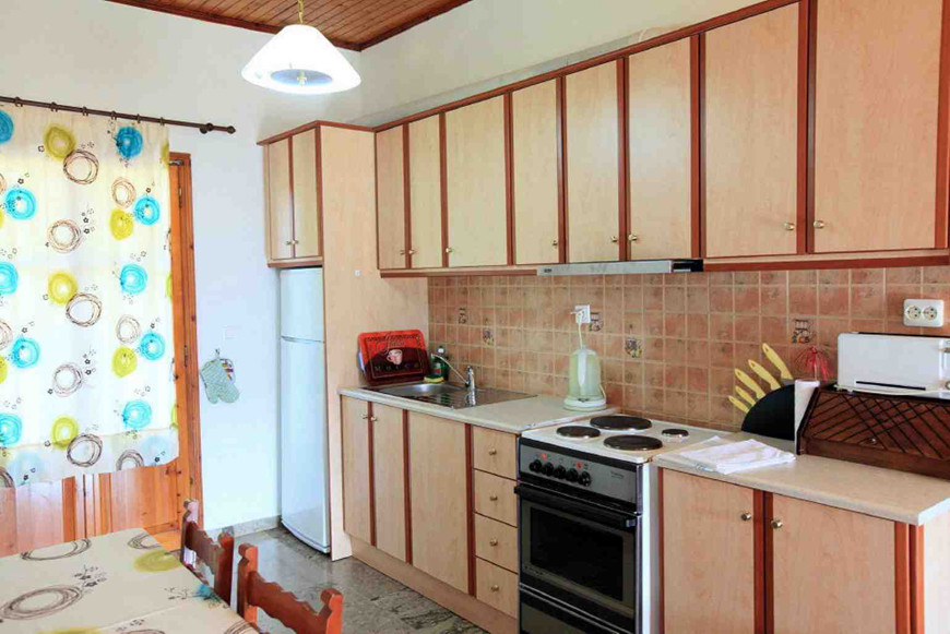 Cochelli Apartments Kitchen Corfu Avlaki