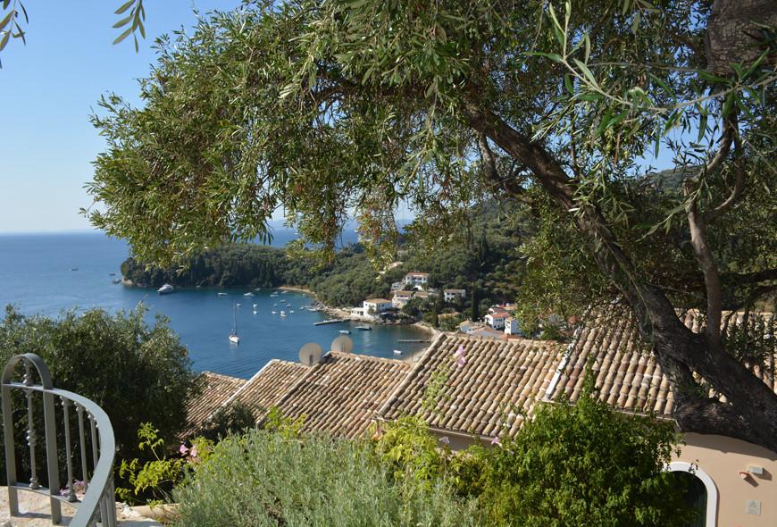 Kalami Bay View Corfu Greece