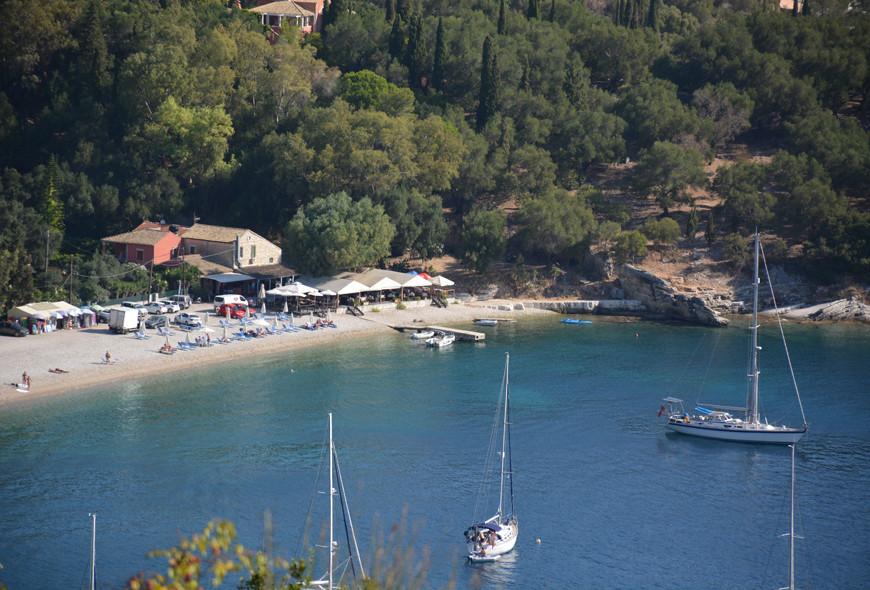 Kerasia Bay Corfu Greece