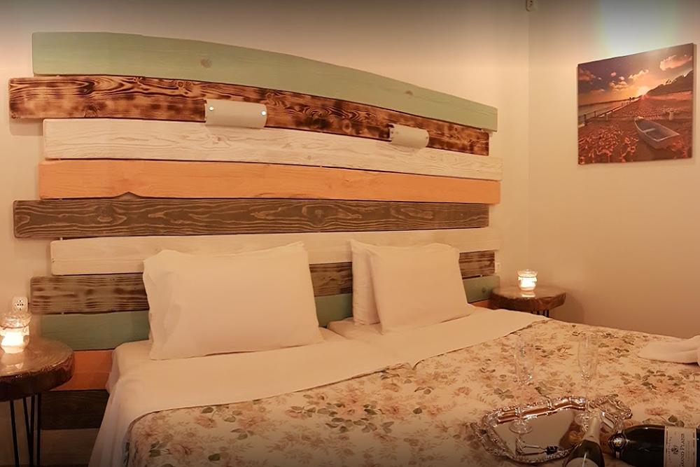 Mary Helen Apartments Bedroom Kassiopi Corfu Greece