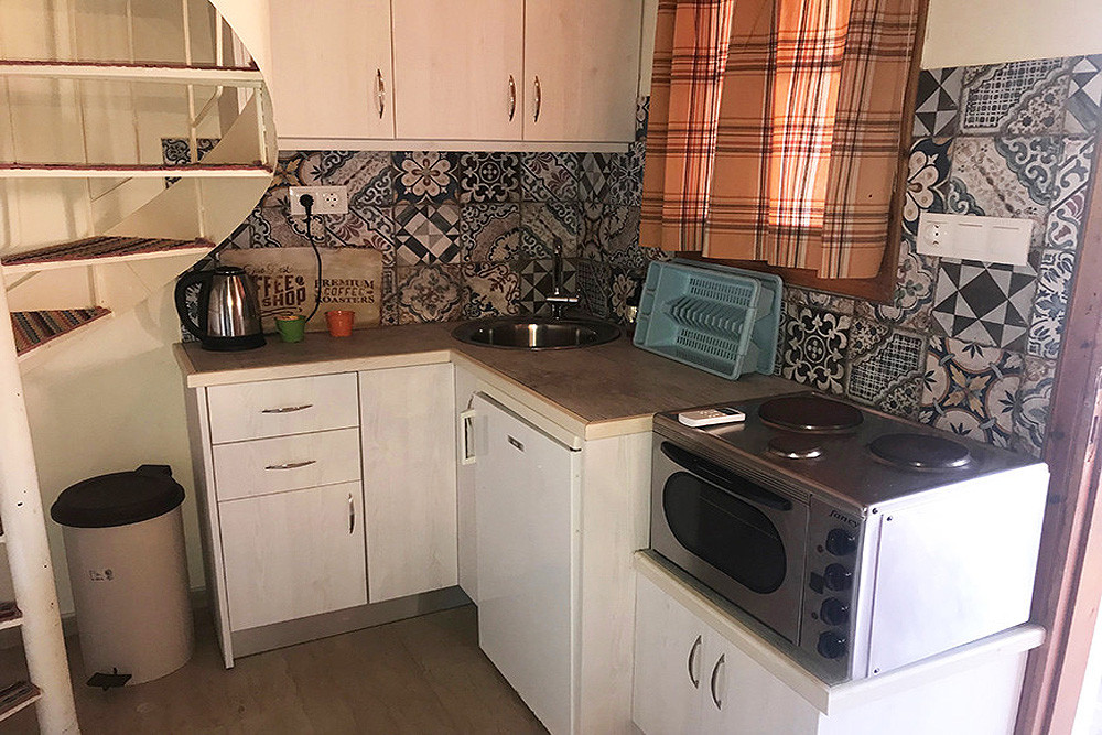 Mary Helen Apartments Kitchen Kassiopi Corfu Greece