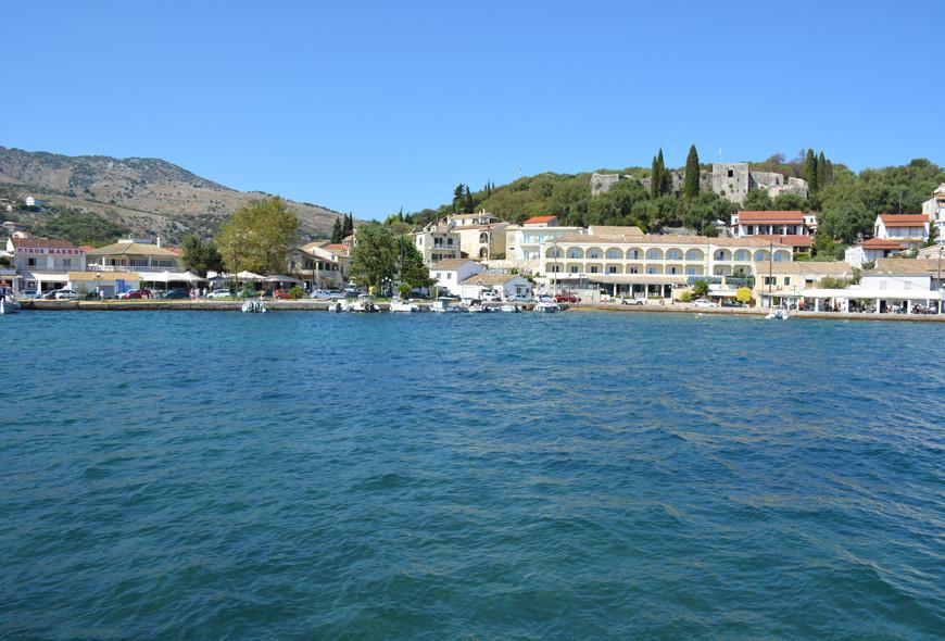 Kassiopi Harbour Corfu Greece