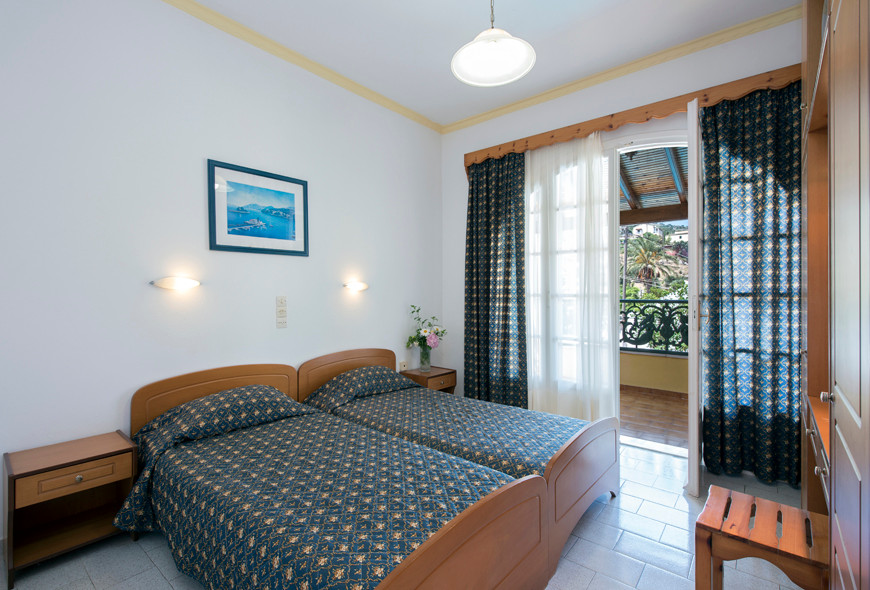 Andreas Pool Complex Twin Room Kassiopi Corfu Greece