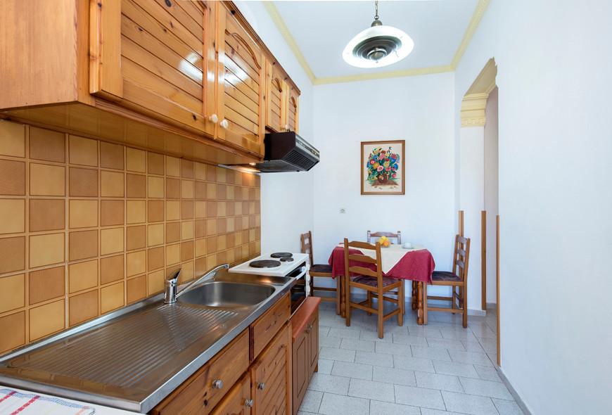 Andreas Apartments Kitchen Area Kassiopi Corfu Greece