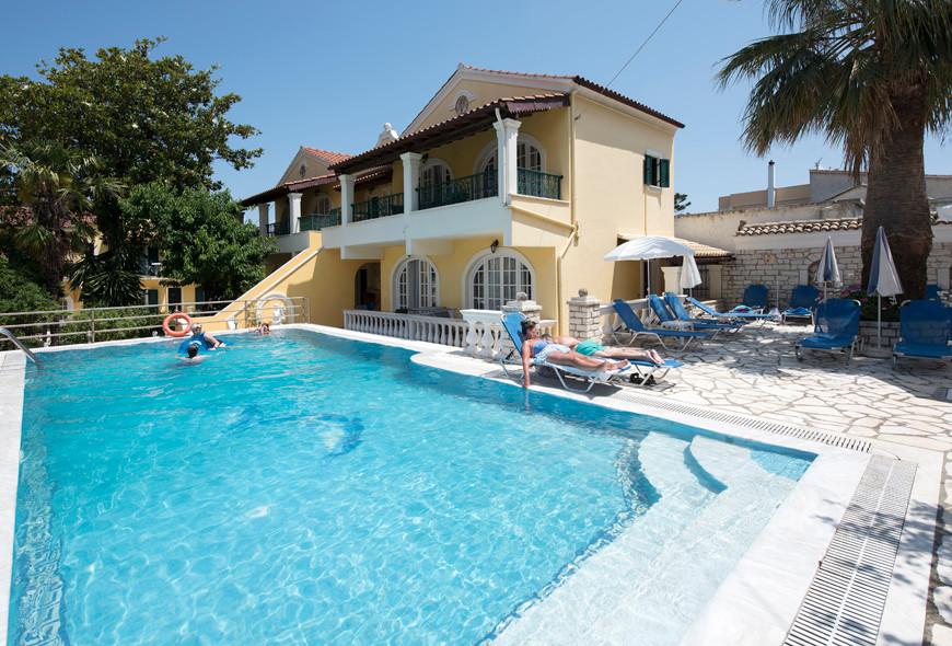 Andreas Pool Complex Pool Area Kassiopi Corfu Greece
