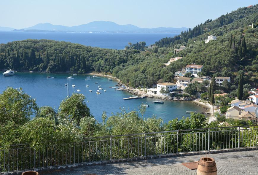 Kalami Bay White House The Durrells Corfu Greece