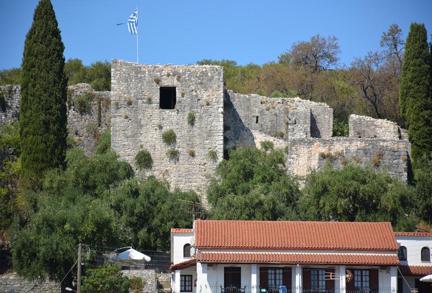 Kassiopi Castle Corfu Greece