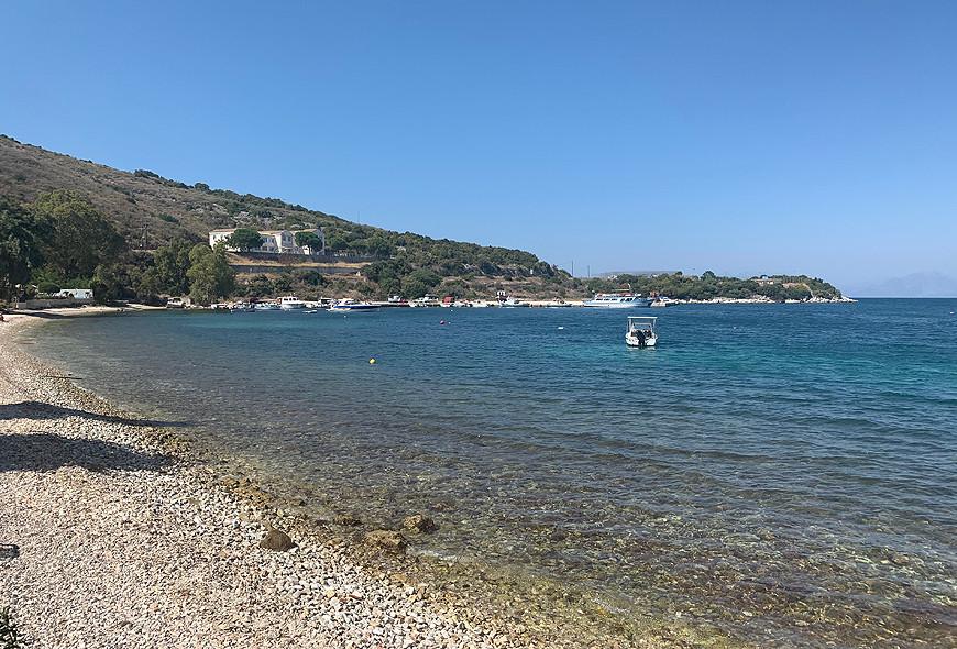 Imerolia School View Kassiopi Corfu Greece