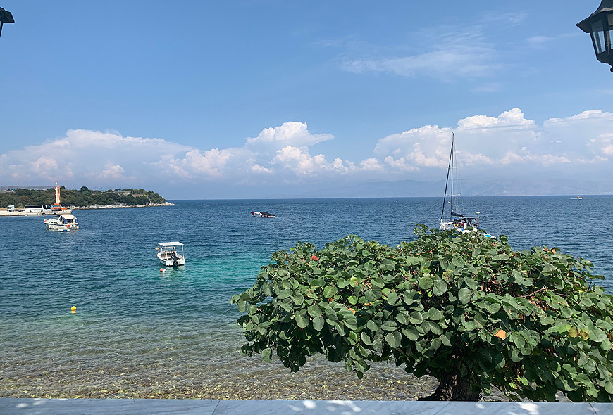 Imerolia Studios View Sea Greece Corfu