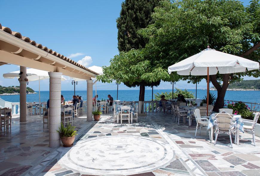 Imerolia Studios Taverna Sea View Kassiopi Corfu Greece