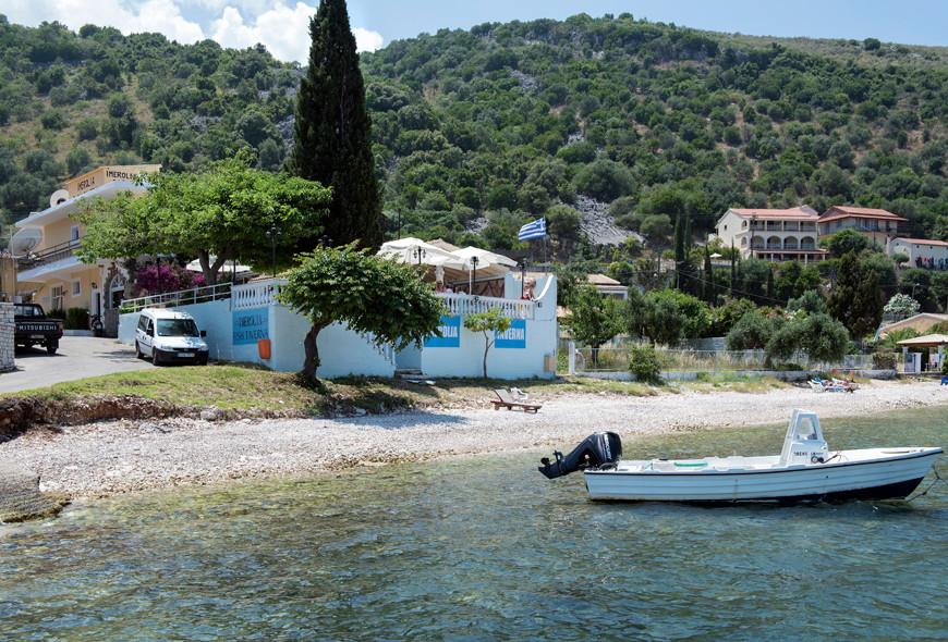Imerolia Taverna and Studios Kassiopi Corfu Greece