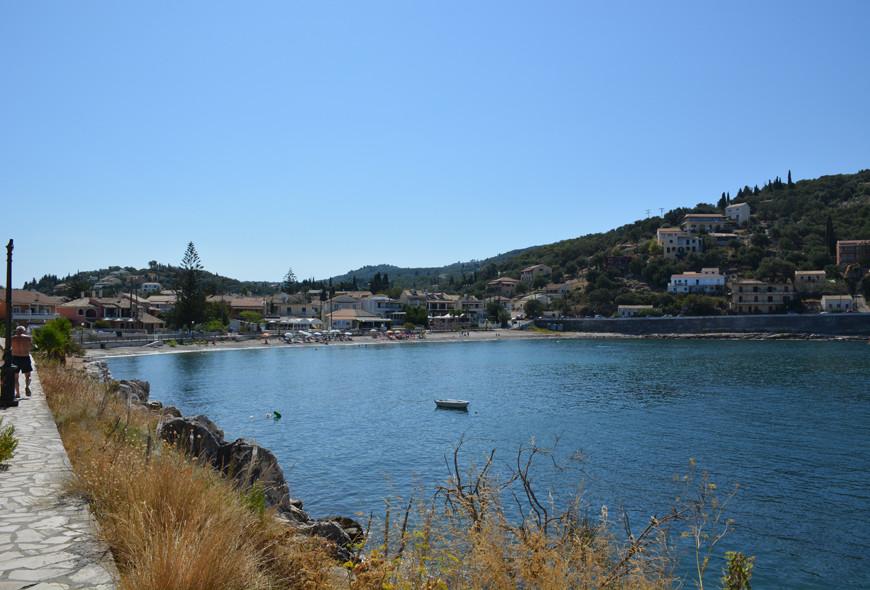 Kalamionas Beach Kassiopi Corfu