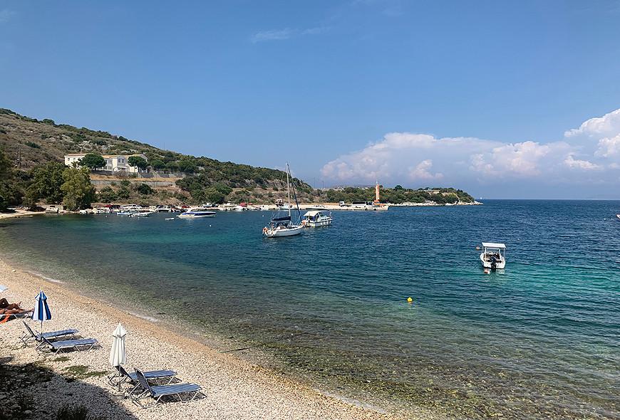 Imerolia Beach View Kassiopi Corfu Greece