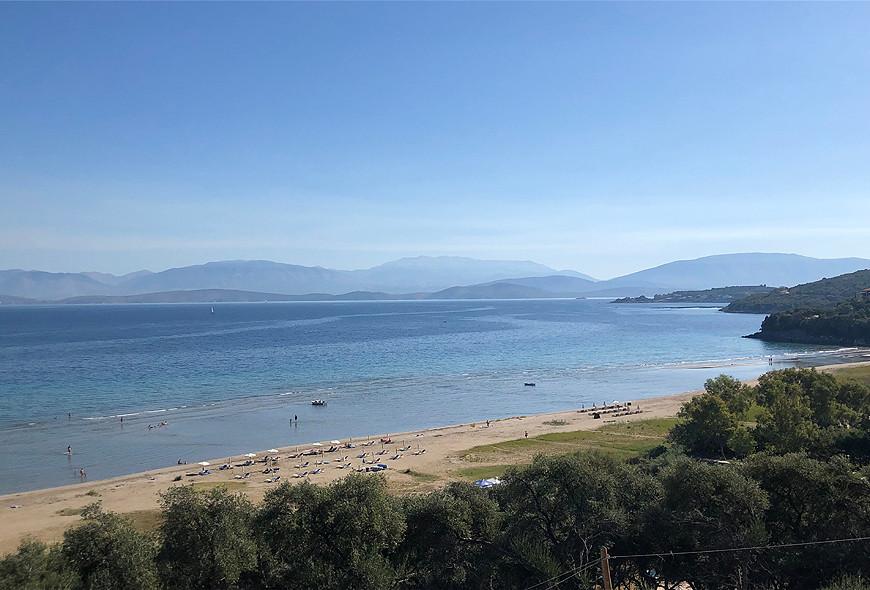 Kalamaki Bay Apraos Corfu Greece