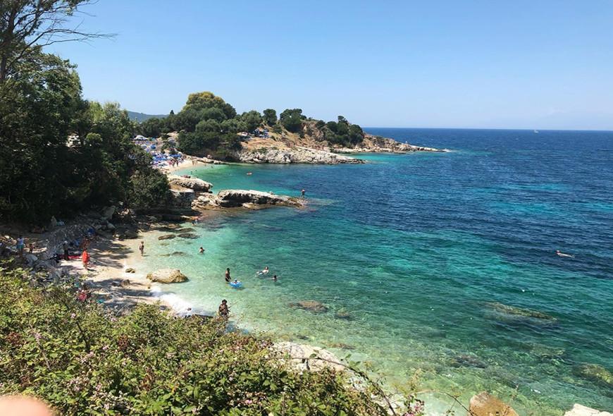 Bataria Beach Kassiopi Headland Corfu