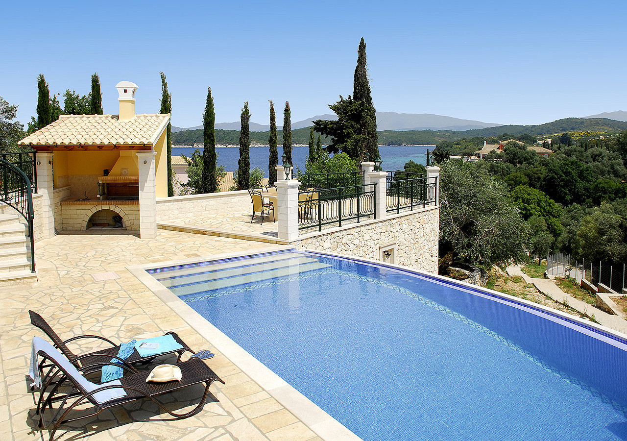 Villa Argiro Pool View Kassiopi Sea Corfu Greece