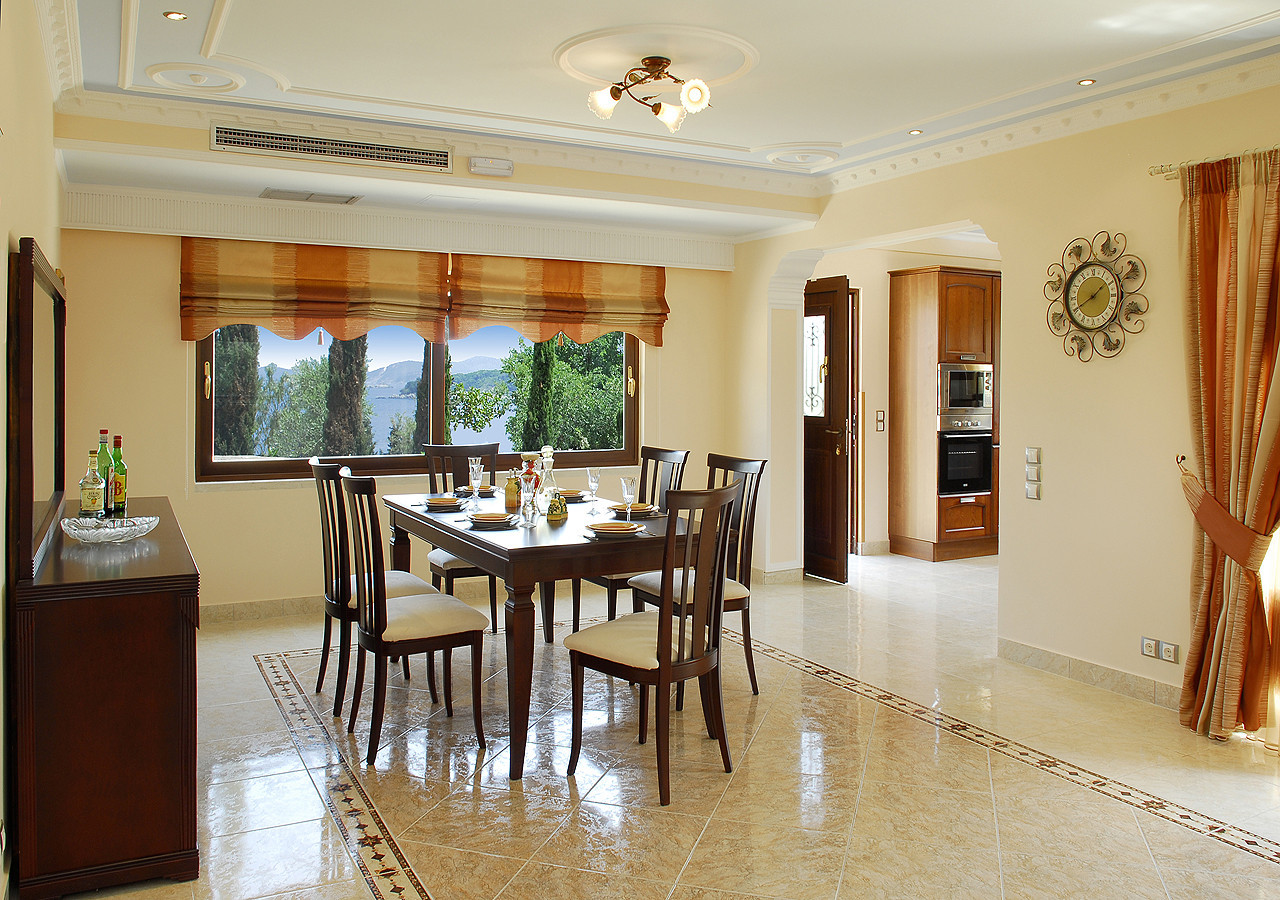 Villa Argyro Dining Room Kassiopi Corfu Greece