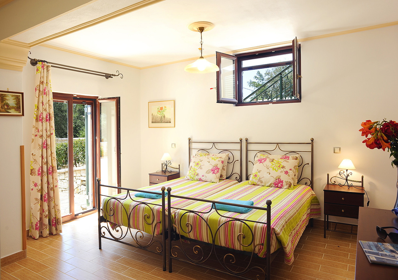Villa Argyro Bedroom Kassiopi Corfu Greece