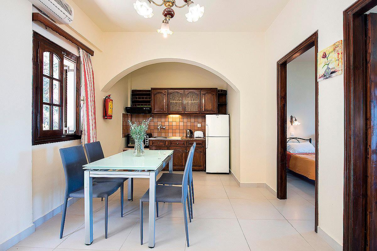 Dimitrios Apartments Kitchen Imerolia Kassiopi Corfu Greece