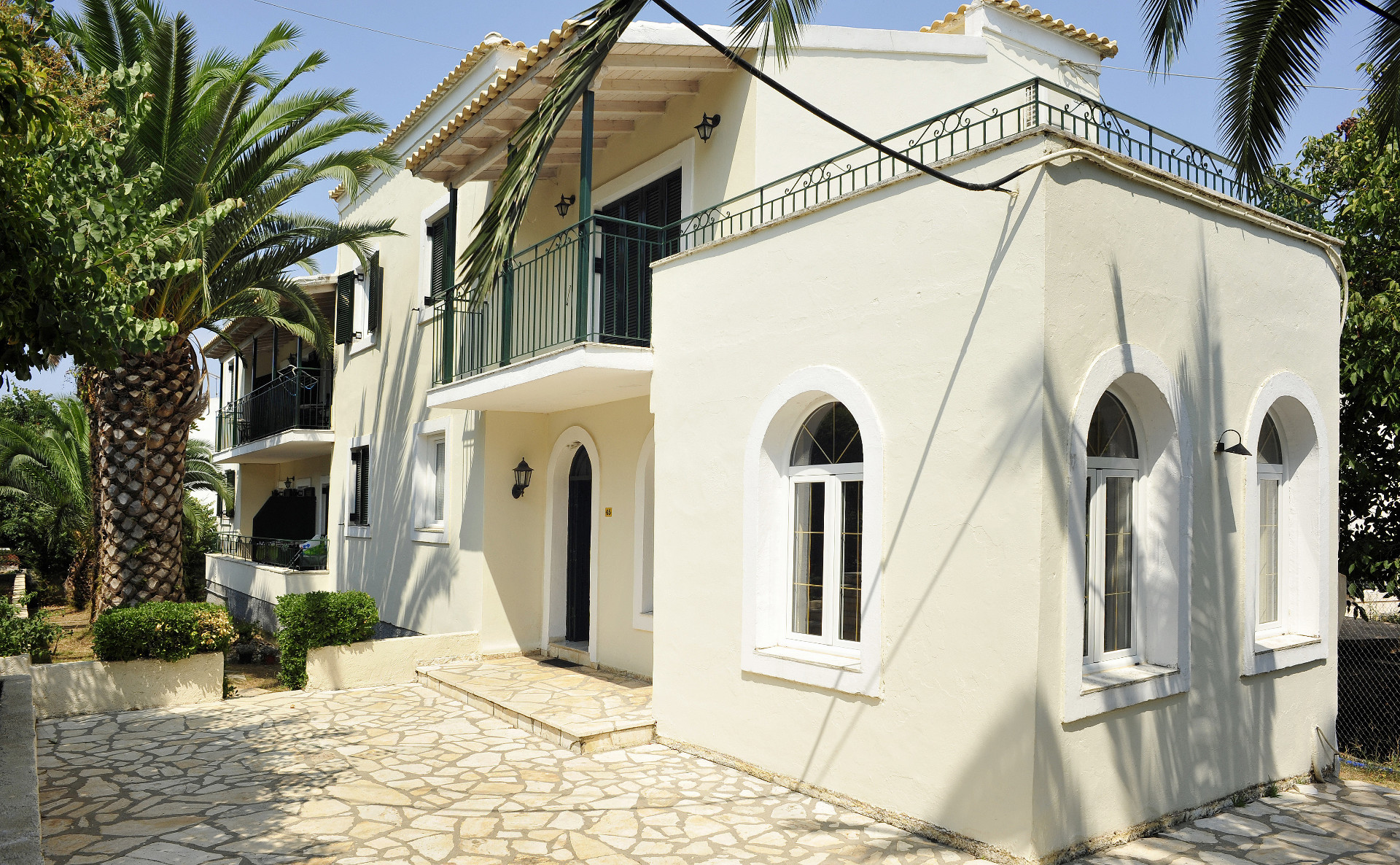 Balaris Apartments Exterior Kassiopi Corfu Greece