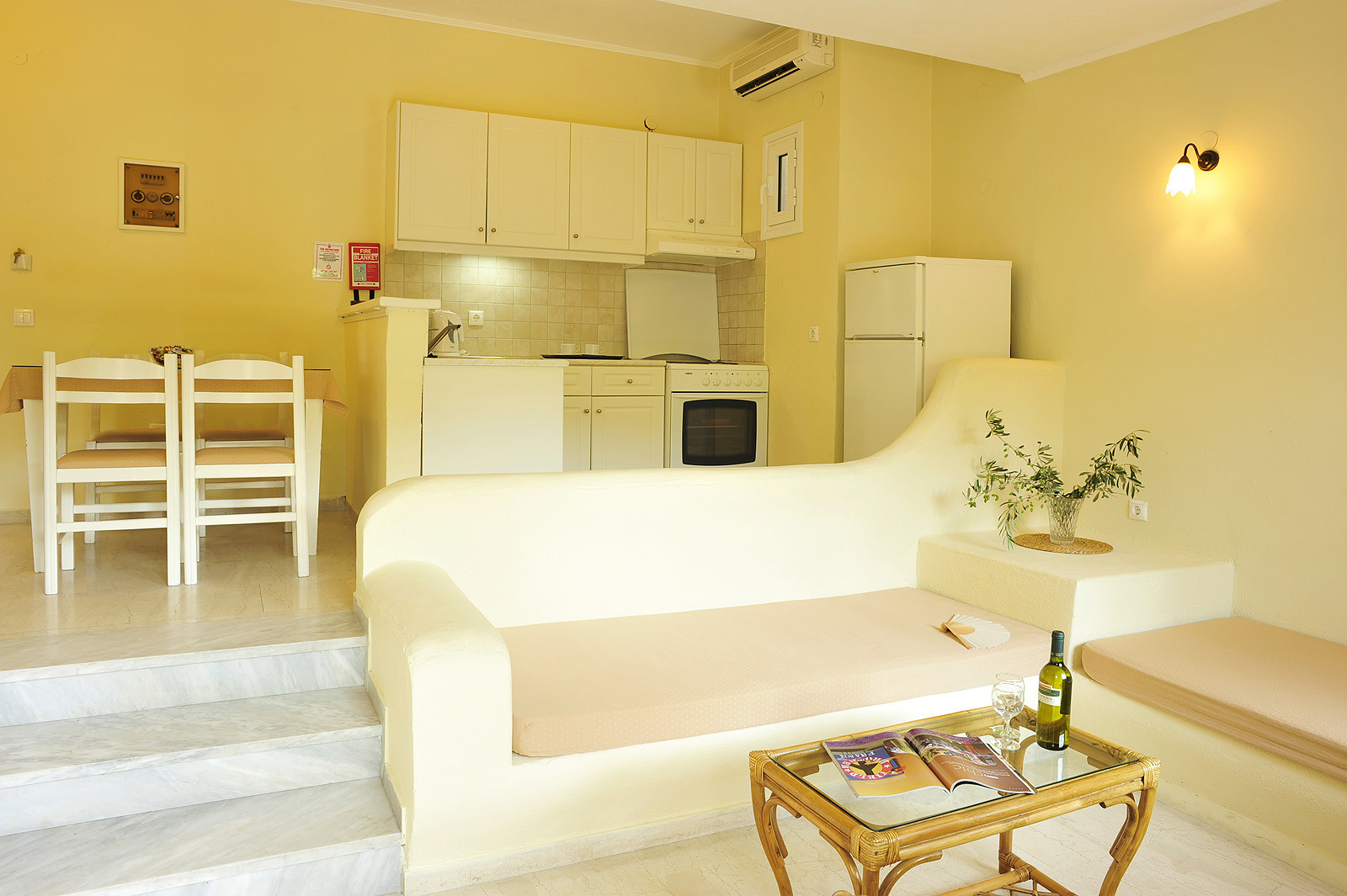 Balaris Apartments Kitchen Kassiopi Corfu Greece