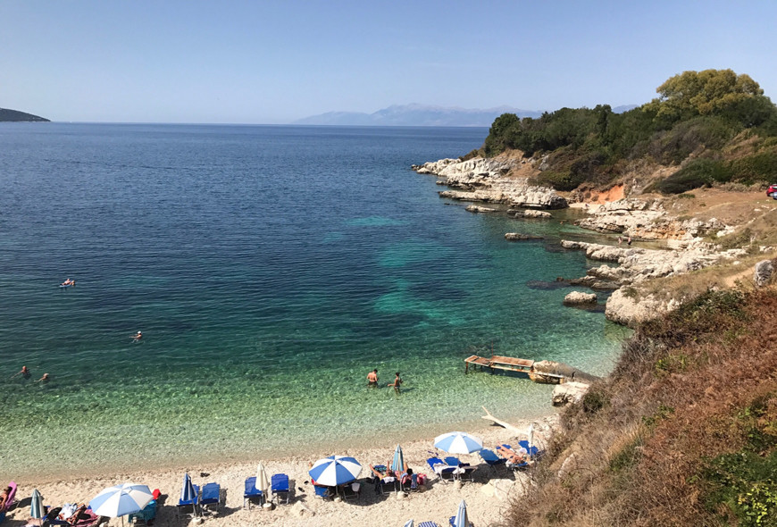 Pipitos Beach Healand Kassiopi Corfu Greece
