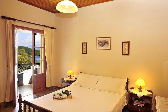 Cochelli Villas Avlaki Kassiopi Corfu Bedroom