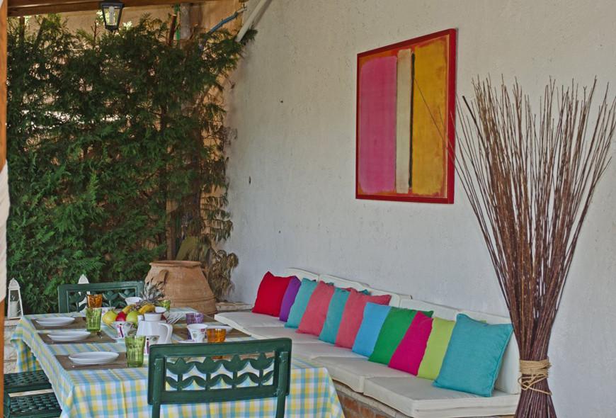 Villa Aphrodite Kassiopi Corfu Greece Outside Dining Area