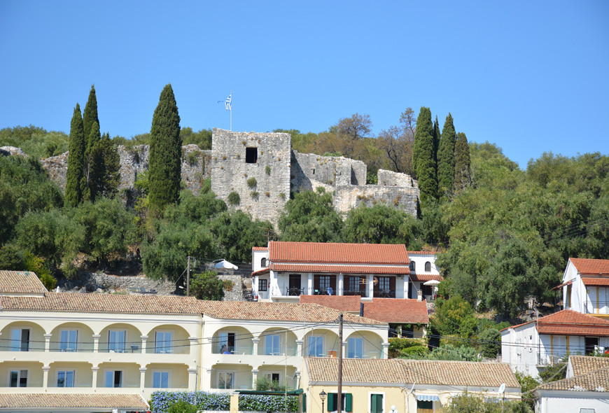 Kassiopi Castle Harbour Corfu Greece