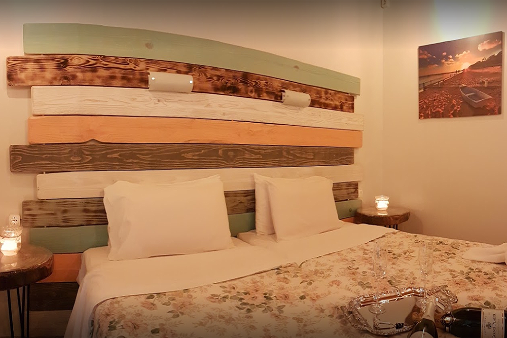 Mary Helen Apartments Bedroom Kassiopi Corfu Greece