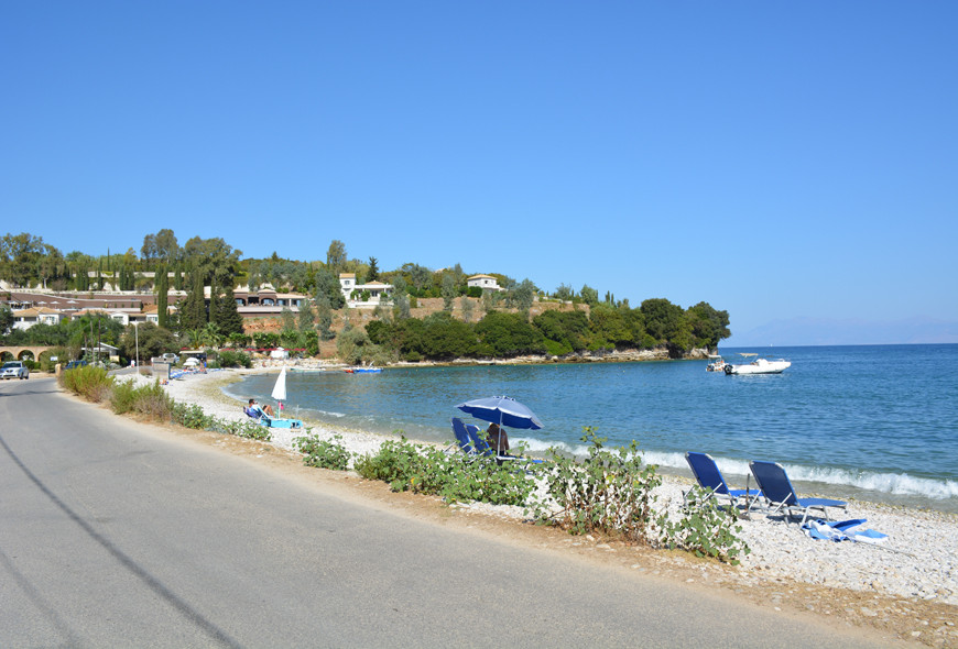 Avlaki Beach Sinies Kassiopi Corfu Greece