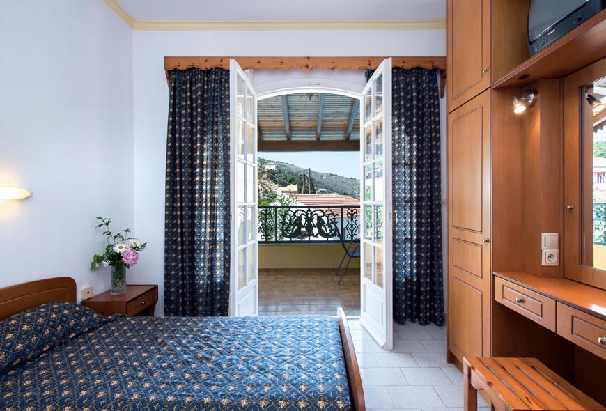 Andreas Apartments Double Room Kassiopi Corfu Greece