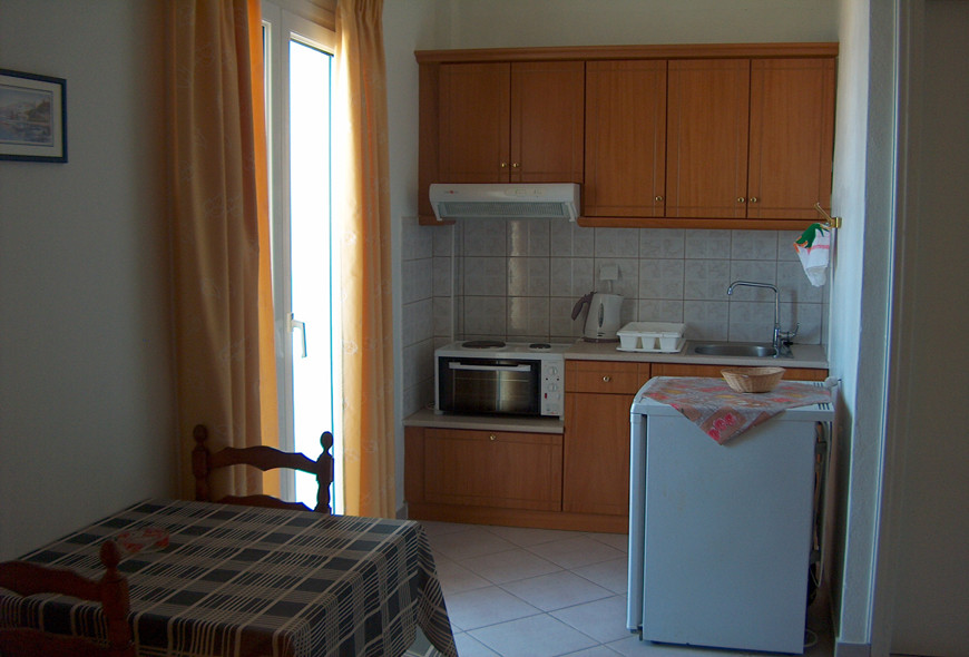 Imerolia Studios Kitchen Kassiopi Corfu Greece