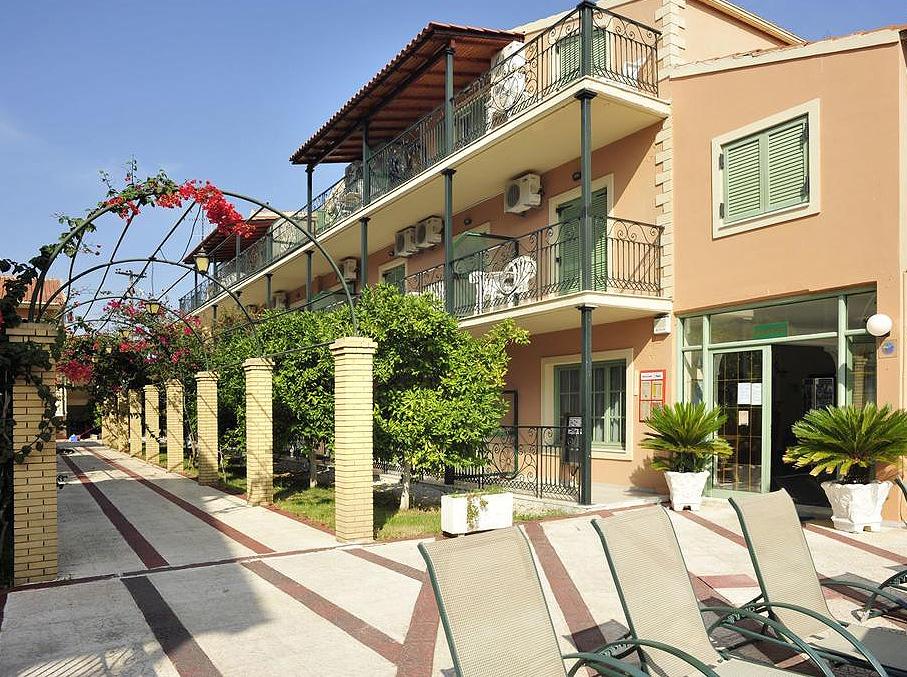 Philippos Apartments Entrance Kassiopi Corfu Greece