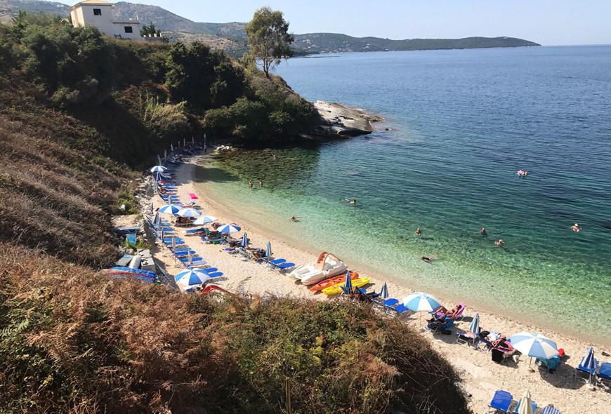 Pipitos Beach Kassiopi Corfu Greece