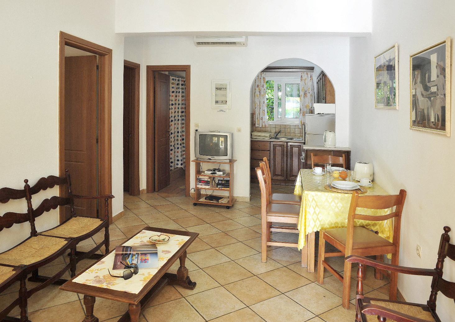 Ariti Apartments Kitchen Kassiopi Corfu Greece